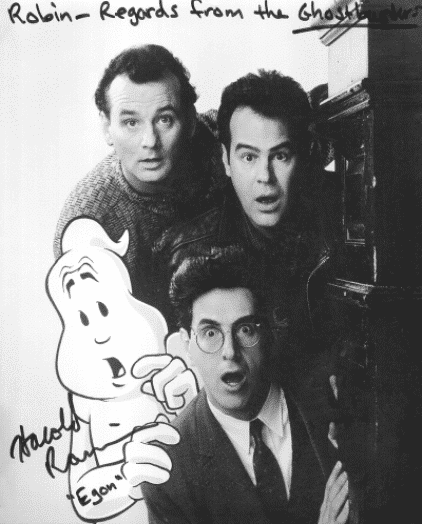 Ghostbusters: Dan Akroyd, Bill Murray and  Harold Ramis