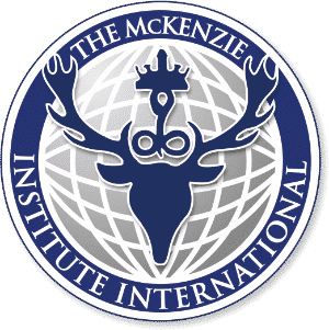 The McKenzie Institute is formed by Robin