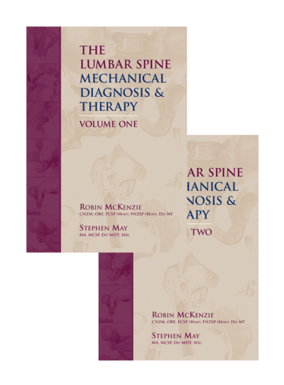 The Lumbar Spine: Mechanical Diagnosis & Therapy: Vol 1 & Vol 2