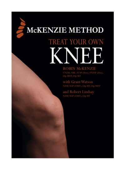 McKenzie Method® Treat Your Own Knee Book