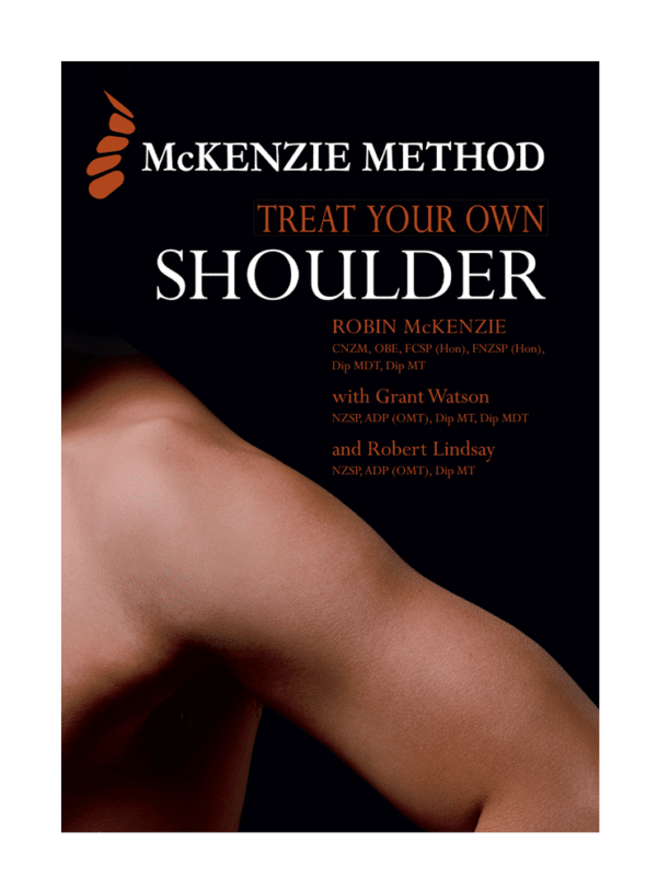 McKenzie Method® Treat Your Own Shoulder Book